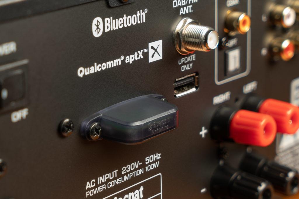 Dank HiRes-Unterstützung und Bluetooth mit aptX verfügt der MC 100 über einen besonders guten Klang.