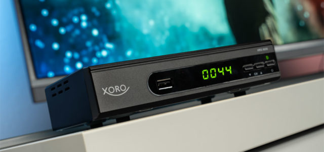 Xoro HRS 8659 Smart: Cleverer Sat-Receiver mit Media-Player und Sprachsteuerung