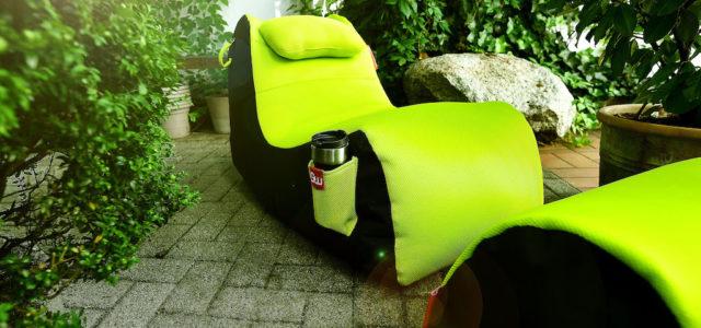 Gamewarez RX Venom Sitzsack – Herrlich entspannt Lesen, Arbeiten und Zocken