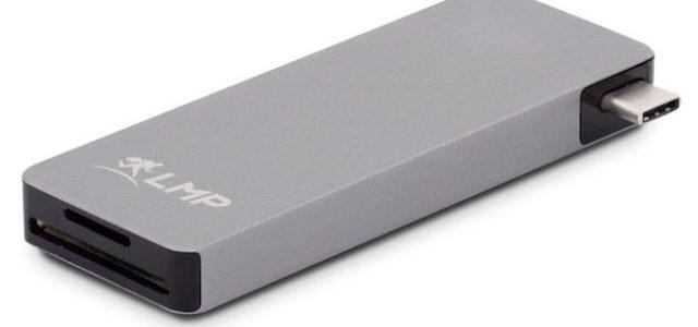 Das kompakte USB-C Basic Hub von LMP verbindet USB-Peripheriegeräte mit dem Mac