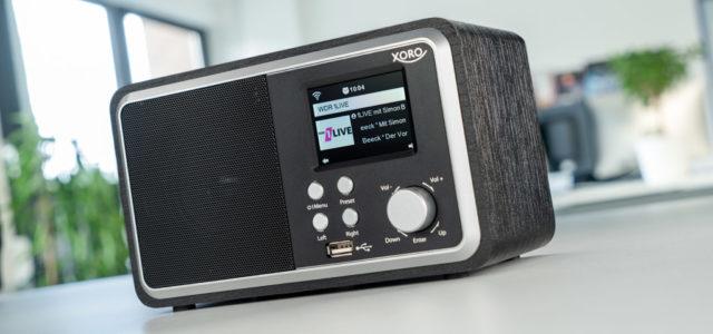 Xoro HMT 300 – WLAN-Radio mit komfortabler Steuerung und gigantischer Programmvielfalt