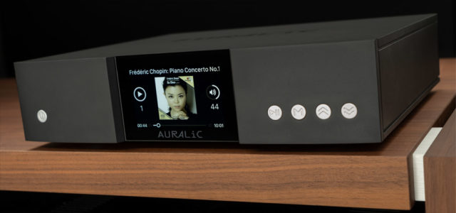 Wireless Streaming Transporter Auralic Aries G1 – Logistik-As für HiRes-Files
