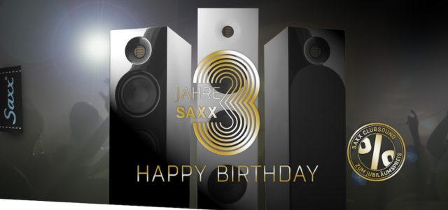 3 Jahre Saxx – HiFi-Lautsprecher können gut UND günstig sein