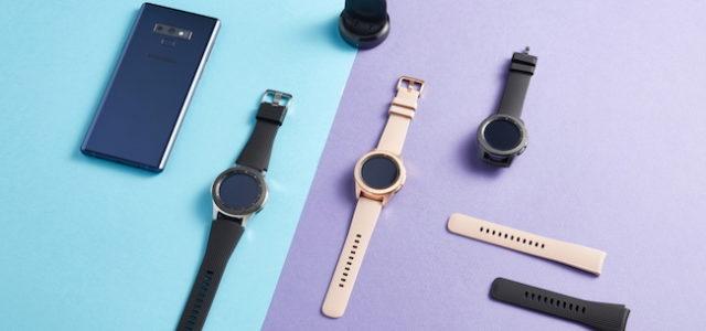 Stilvoll, informiert und verbunden mit der Galaxy Watch
