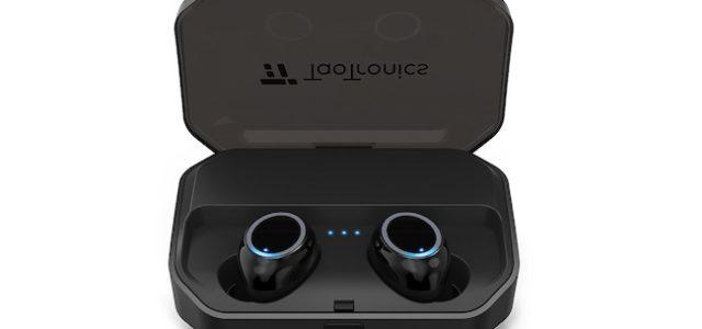 Bluetooth kabellose Kopfhörer von TaoTronics ermöglichen eine Wiedergabezeit von einer Woche