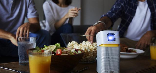 Beamer To Go – der Mini-LED-Projektor GV1 von BenQ