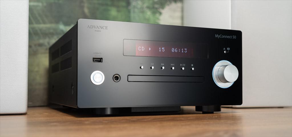 Kompakt, aber sehr vielseitig: Der MyConnect 50 von Advance Paris hat einiges zu bieten.