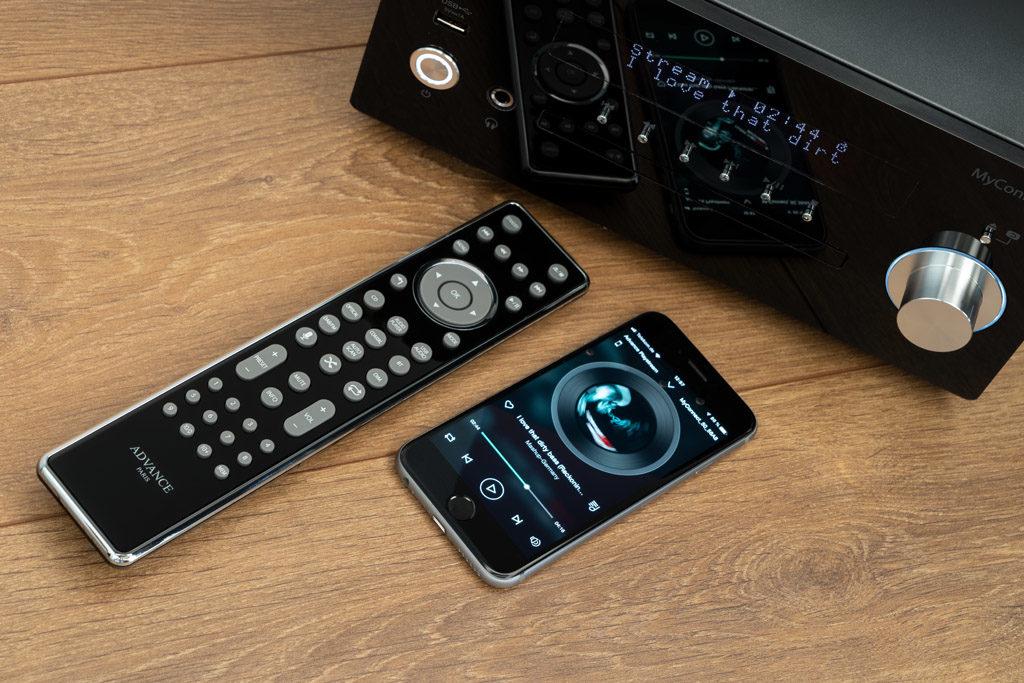 Der MyConnect 50 lässt sich wahlweise per Fernbedienung oder Smartphone-App steuern.