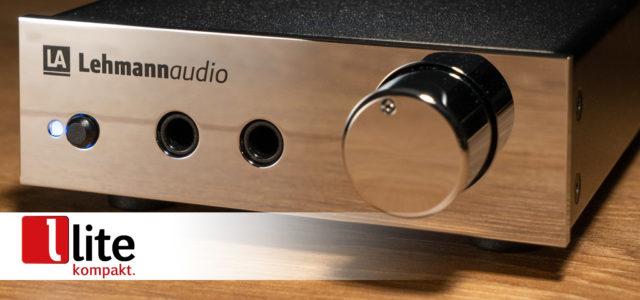 Kopfhörer-Verstärker Lehmannaudio Drachenfels USB – Doppelter Hörspaß jetzt auch für digitales HiRes