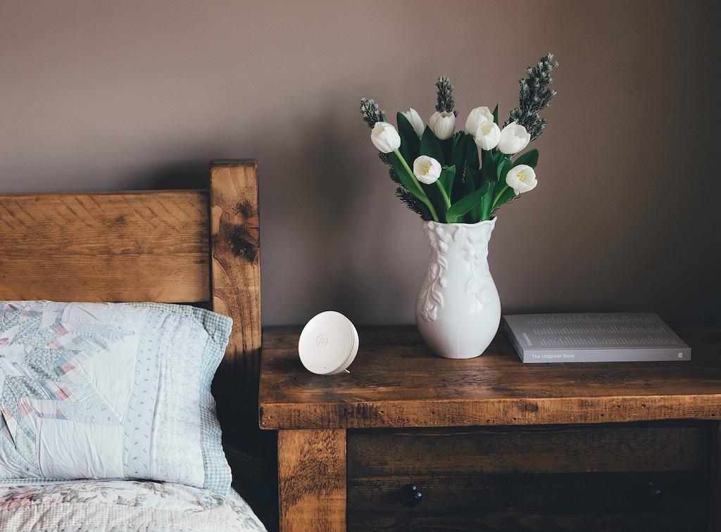 ces 2019 airthings pr sentiert wave mini lite das lifestyle technik magazin. Black Bedroom Furniture Sets. Home Design Ideas