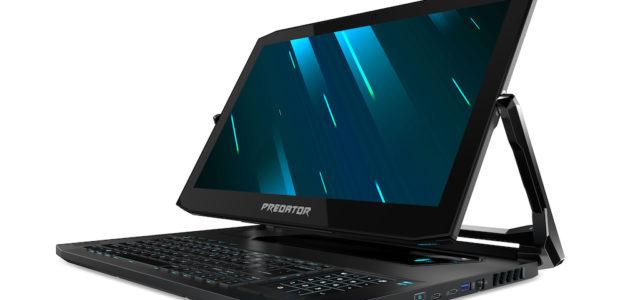 CES 2019: Mit dem Convertible Predator Triton 900 gibt Acer Gaming-Notebooks eine neue Form