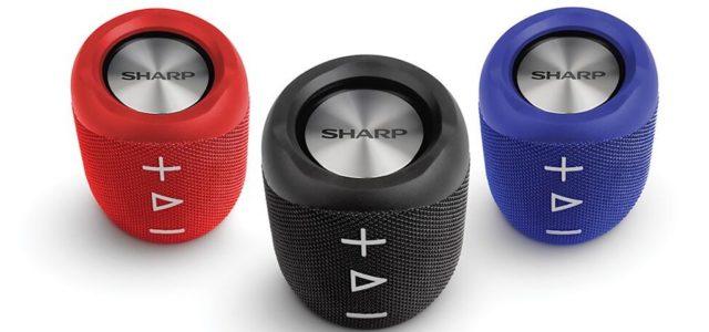 Fetter Sound für zuhause und unterwegs: Sharp kündigt drei neue Bluetooth-Lautsprechern an