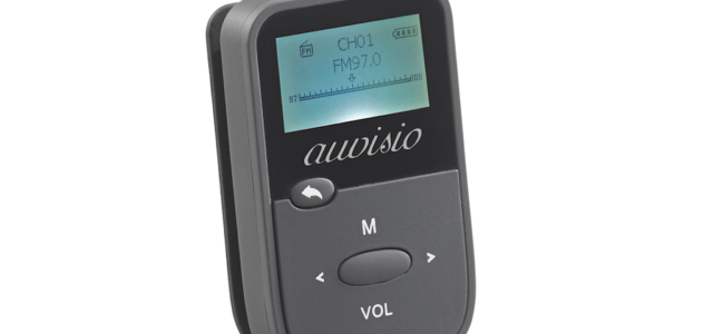 auvisio DMP-190.rec: 2in1-Audio-Player und Sprachrekorder