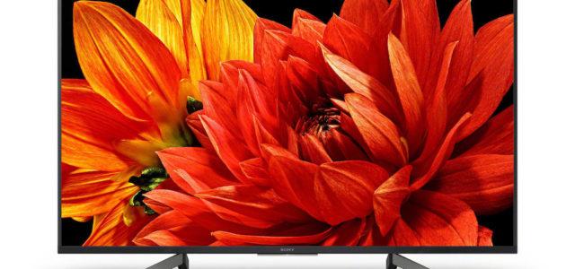 Sony erweitert sein Sortiment um vier neue 4K HDR TV-Serien