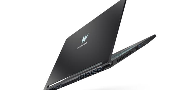 Predator Triton 500: Das schlanke Gaming-Notebook von Acer ist ab sofort verfügbar