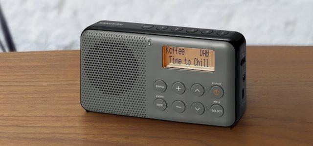 DPR-64 Pocketradio von Sangean für bequemen Mobilempfang von UKW und DAB+