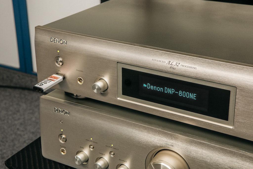 Die Verarbeitung der 800NE-Komponenten ist wie immer bei Denon außerordentlich sorgfältig ausgeführt.
