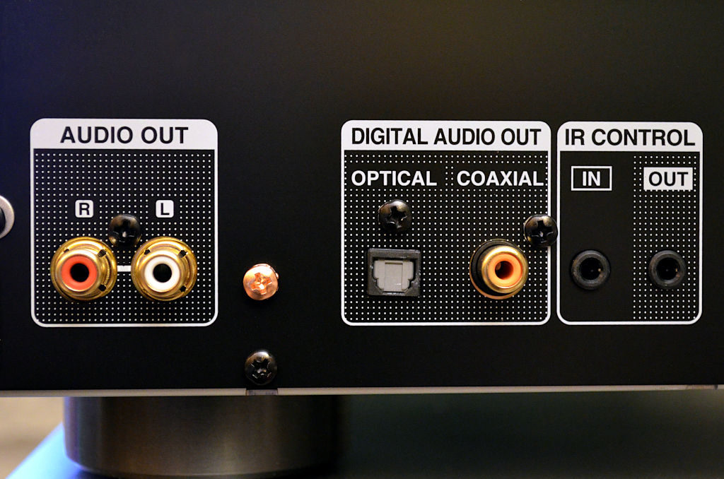 Der CD-Player der NE-Serie konzentriert sich fast ausschließlich auf seine primäre Musikquelle.
