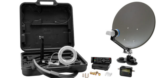 MCA 38 HD: SAT-Anlagen Komplettset mit SAT-Finder von XORO