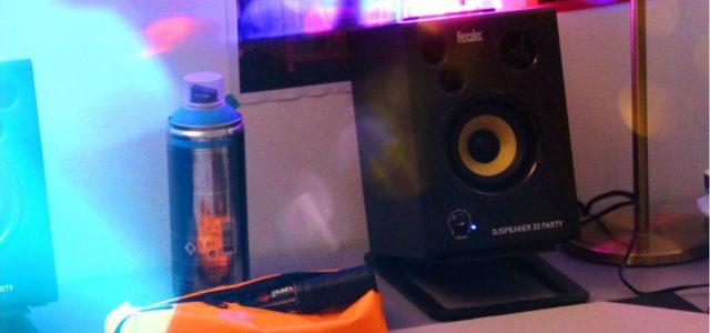 Der Nachtclub zu Hause — mit dem DJSpeaker 32 Party von Hercules ein Kinderspiel!