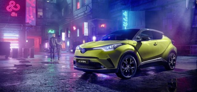 Toyota C-HR Neon Lime powered by JBL