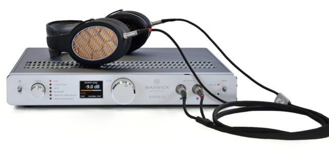 WELT-PREMIERE: Warwick Acoustics präsentiert das Referenz-Kopfhörer-System Aperio auf der HIGH END