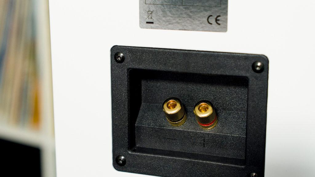 Das Anschluss-Terminal der Classic 3 ist bewusst in Single-Wiring-Ausführung gehalten.