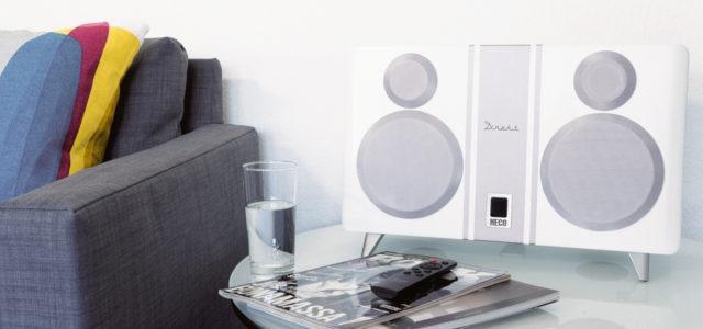 Heco Direkt 800 BT: Dieses kompakte HiFi-Setup rockt visuell und akustisch