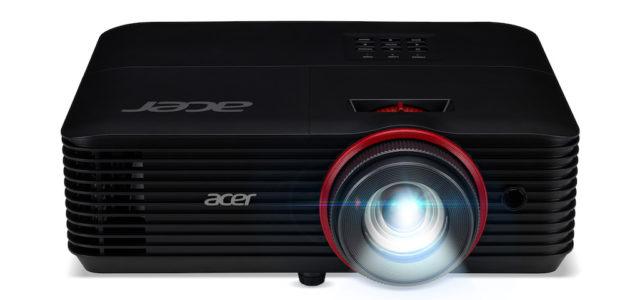 Acer Nitro G550 Projektor: Gigantisches Gaming-Erlebnis und rasend schnelle Reaktion