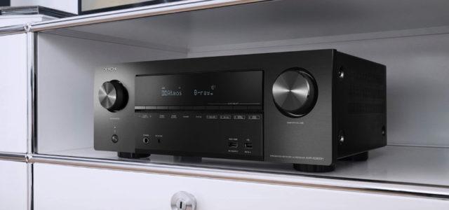 Denon erweitert seine erfolgreiche X-Serie um drei neue AV-Receiver