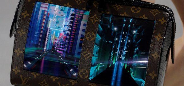 Illuminierte Handtasche: Royole und Louis Vuitton arbeiten am Stoff der Zukunft