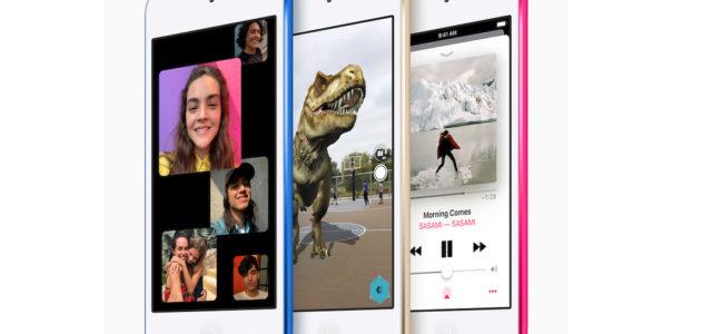 Apple präsentiert den neuen iPod touch mit noch mehr Leistung