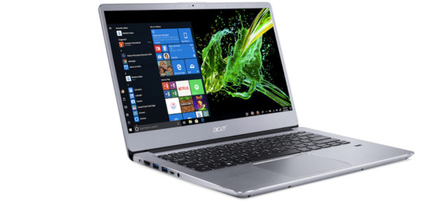 Acer präsentiert Nitro 5 und Swift 3 Notebooks mit AMD Ryzen Mobile Prozessoren