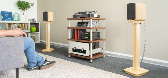 Audel Sonika MK II – Edle High-End-Lautsprecher mit ökologischem Bewusstsein