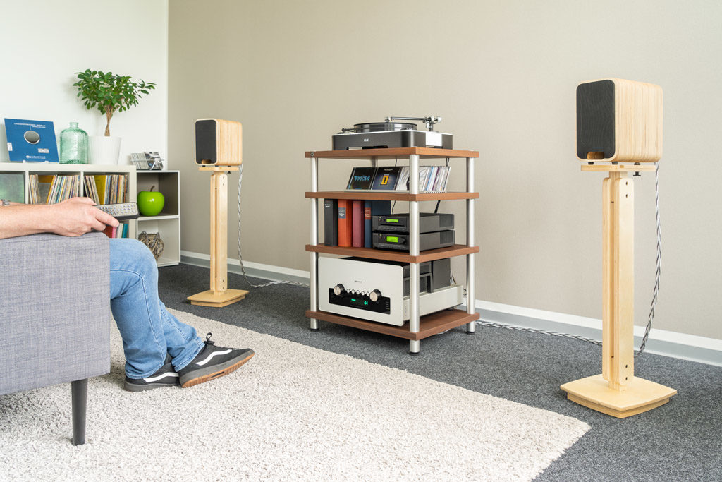Die kompakten Sonika MK II haben alles, was man von edlen High-End-Lautsprechern erwartet.