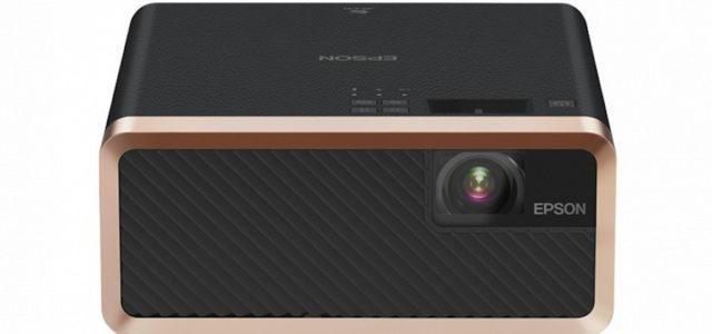 Epson zeigt den EF-100W/B , den weltweit kleinsten 3LCD-Laserprojektor
