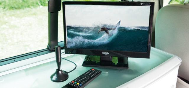 Xoro HTL 1550 KIT: Mini-TV für großes Fernseh-Vergnügen