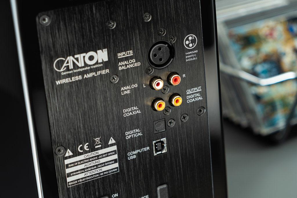 Die Smart Vento 3 sind zwar primär auf die drahtlose Wiedergabe ausgelegt, bieten aber auch eine große Anschlussvielfalt.
