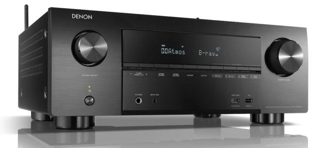 Denon kündigt einen neuen AV-Receiver der X-Serie an, den Denon AVR-X3600H