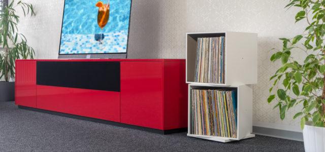 Roterring Scaena V-ree: HiFi-Möbel für Ordnung in der Plattensammlung