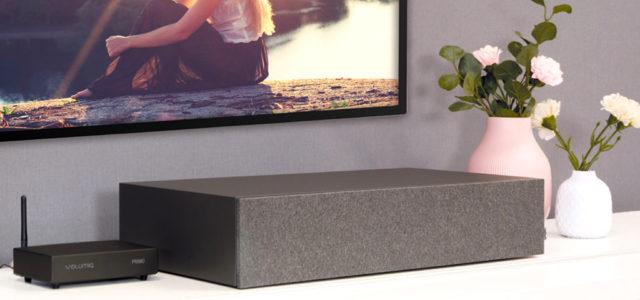 nuBox AS-225: Schicke TV-/HiFi-Lösung für spektakulären Klang