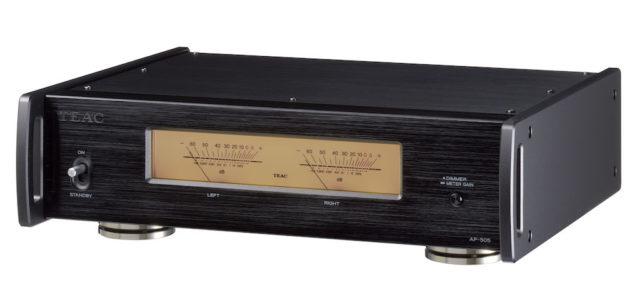 TEAC präsentiert vielseitigen Stereo-Endverstärker für die 505 Reference-Serie