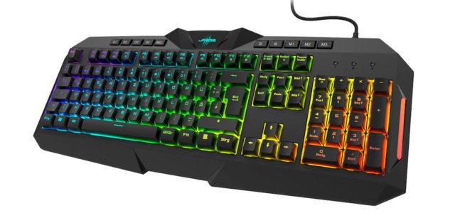 """Schnelle Reaktionszeiten, guter Druckpunkt: Das uRage Gaming-Keyboard """"Exodus 700 Semi-Mechanical"""