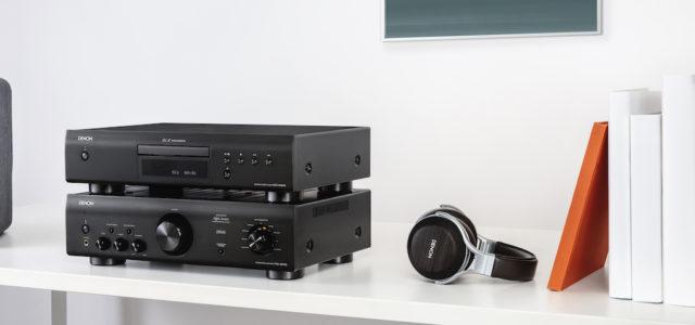 Denon stellt einen neuen Vollverstärker und CD-Player vor