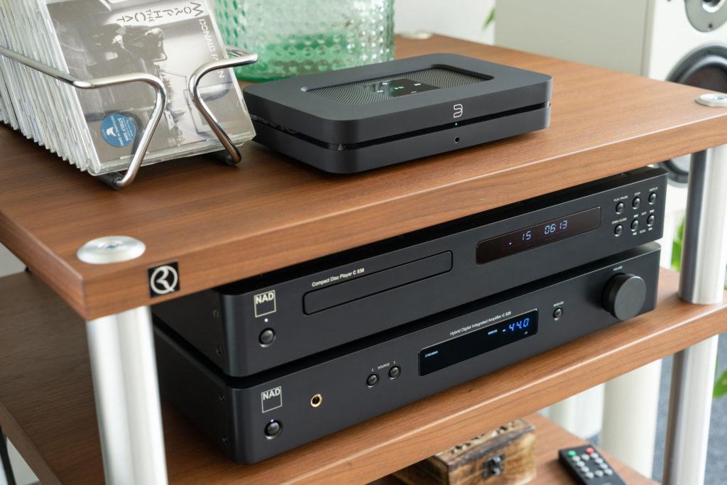 Mit dem Node 2i können klassische HiFi-Systeme sehr komfortabel um moderne Streaming-Möglichkeiten erweitert werden.