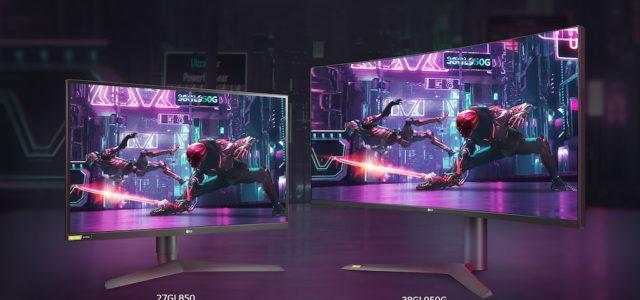 LG präsentiert neue UltraGear Gaming-Monitore mit 1 ms Reaktionszeit