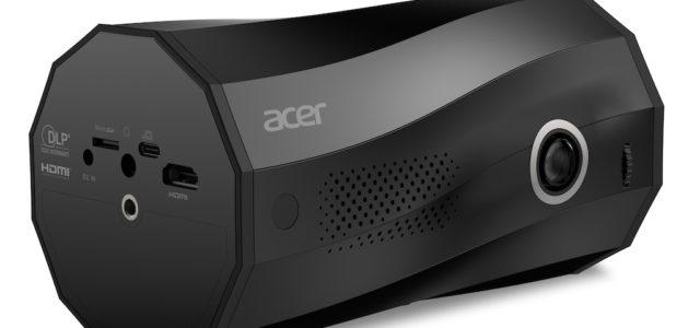 Acer präsentiert den tragbaren LED-Projektor C250i mit weltweit erstem Auto-Portrait-Modus