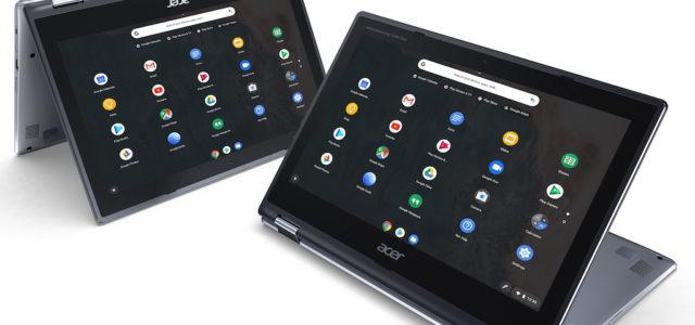 Acer präsentiert neues Lineup im Trendsegment Chromebooks