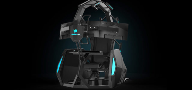 Acer präsentiert neuen Predator Thronos Air Gaming-Chair
