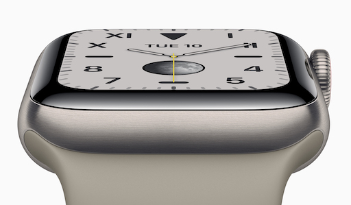 Apple präsentiert die Apple Watch Series 5